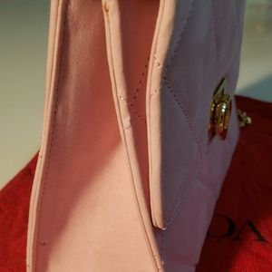 Escada Bags - Escada Leather Purse - Pink Leather - Near Mint!